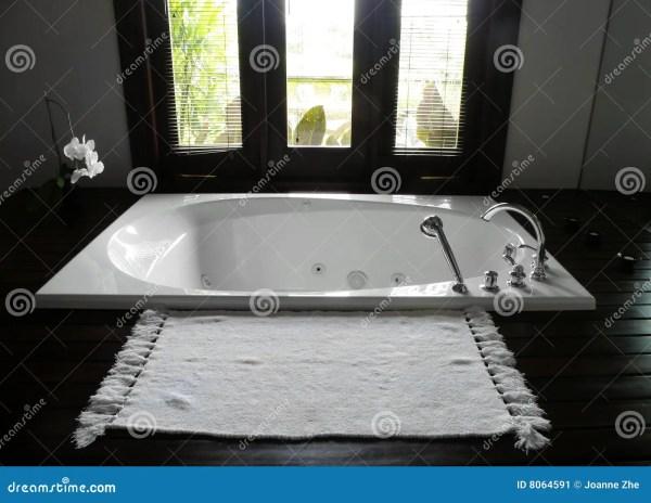 Luxury Resort Hotel Bathroom Stock - 8064591