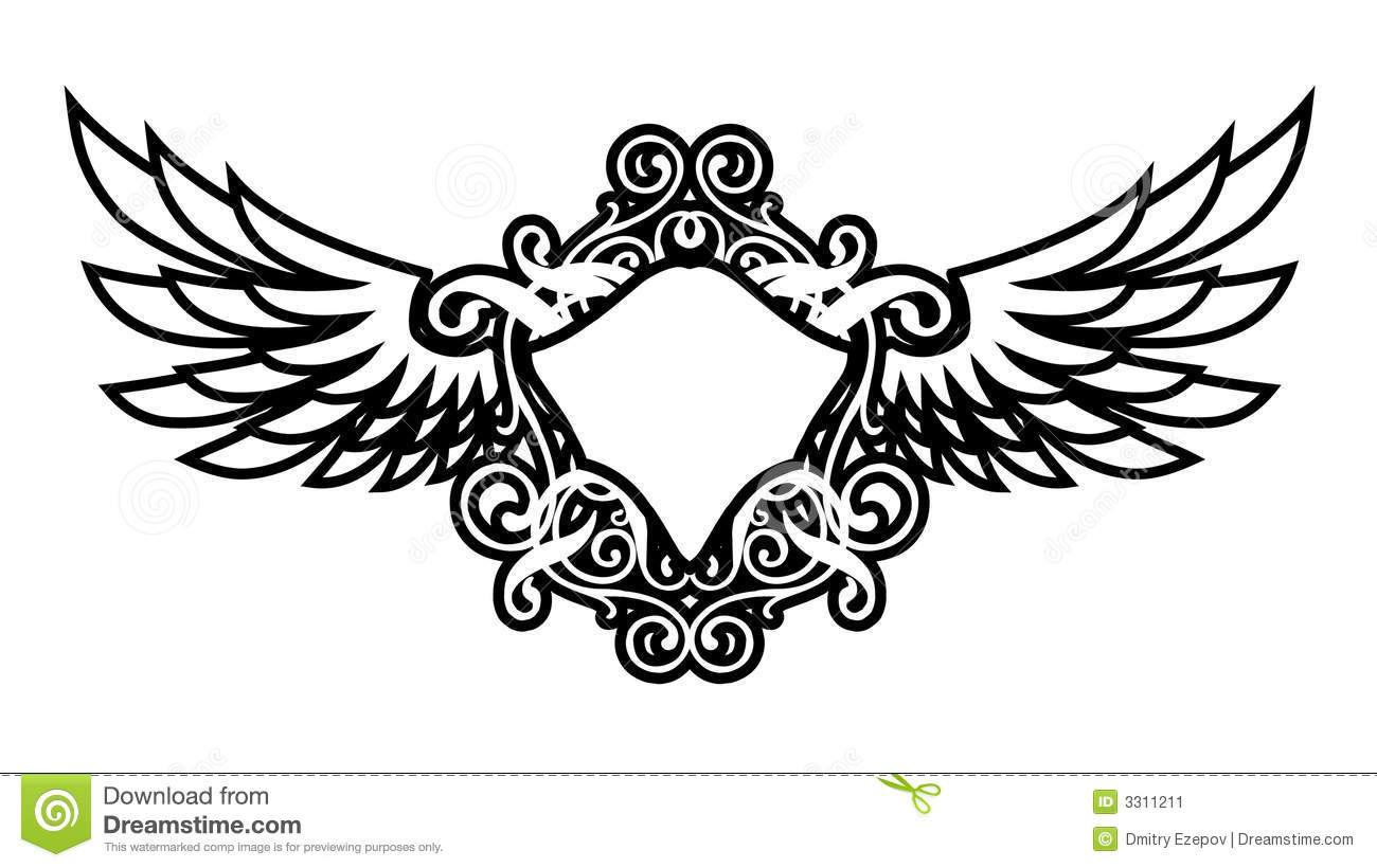 Luxury Wings Stock Vector Illustration Of Background