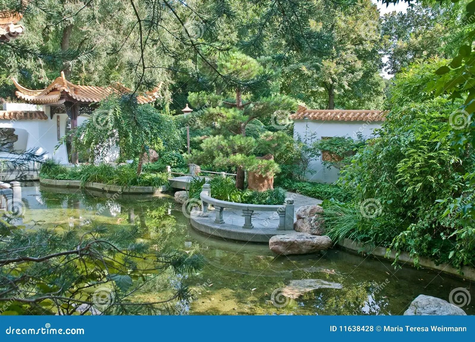 München Chinesischer Garten Lizenzfreie Stockfotos Bild 11638428