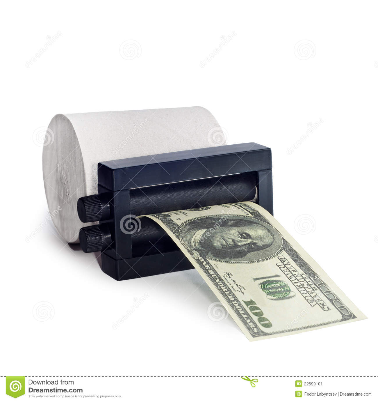 machine print money out