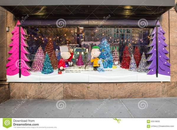 Macy39s Christmas Windows editorial image Image of city