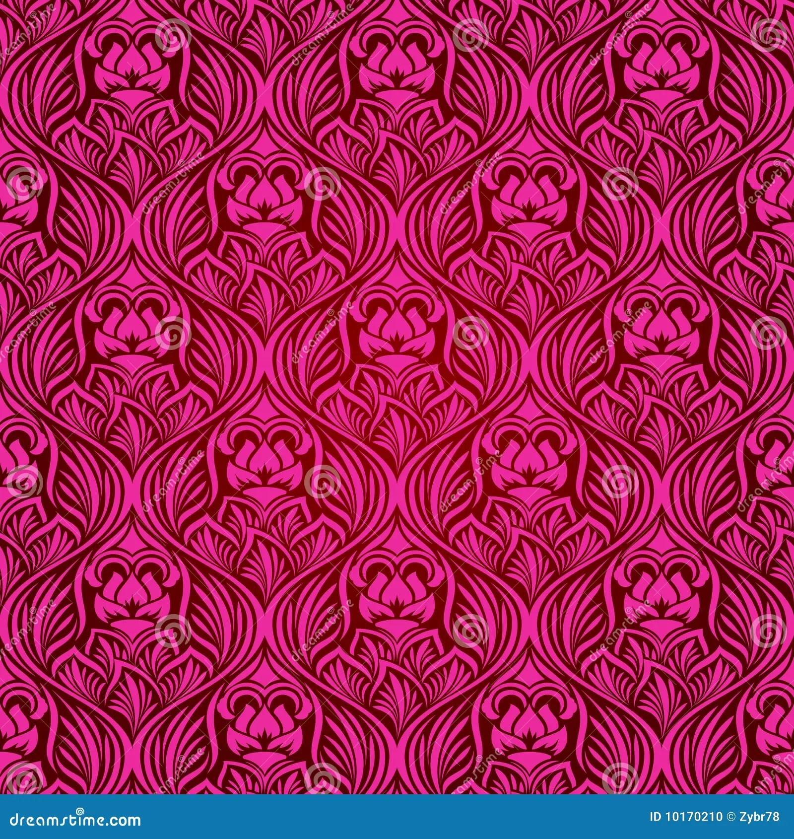 Pink Animal Print Wallpaper Magenta Seamless Wallpaper Stock Photo Image 10170210