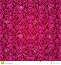 Magenta seamless wallpaper stock vector. Image of fabric ...