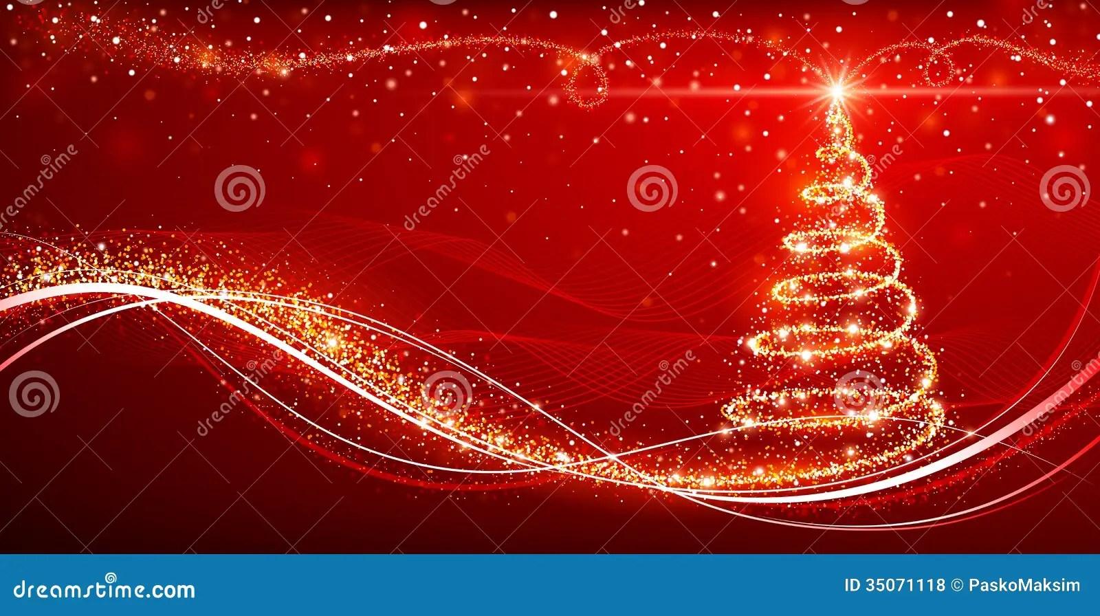 Magic Christmas Tree Royalty Free Stock Photos Image