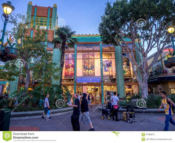 Downtown Disney Anaheim California