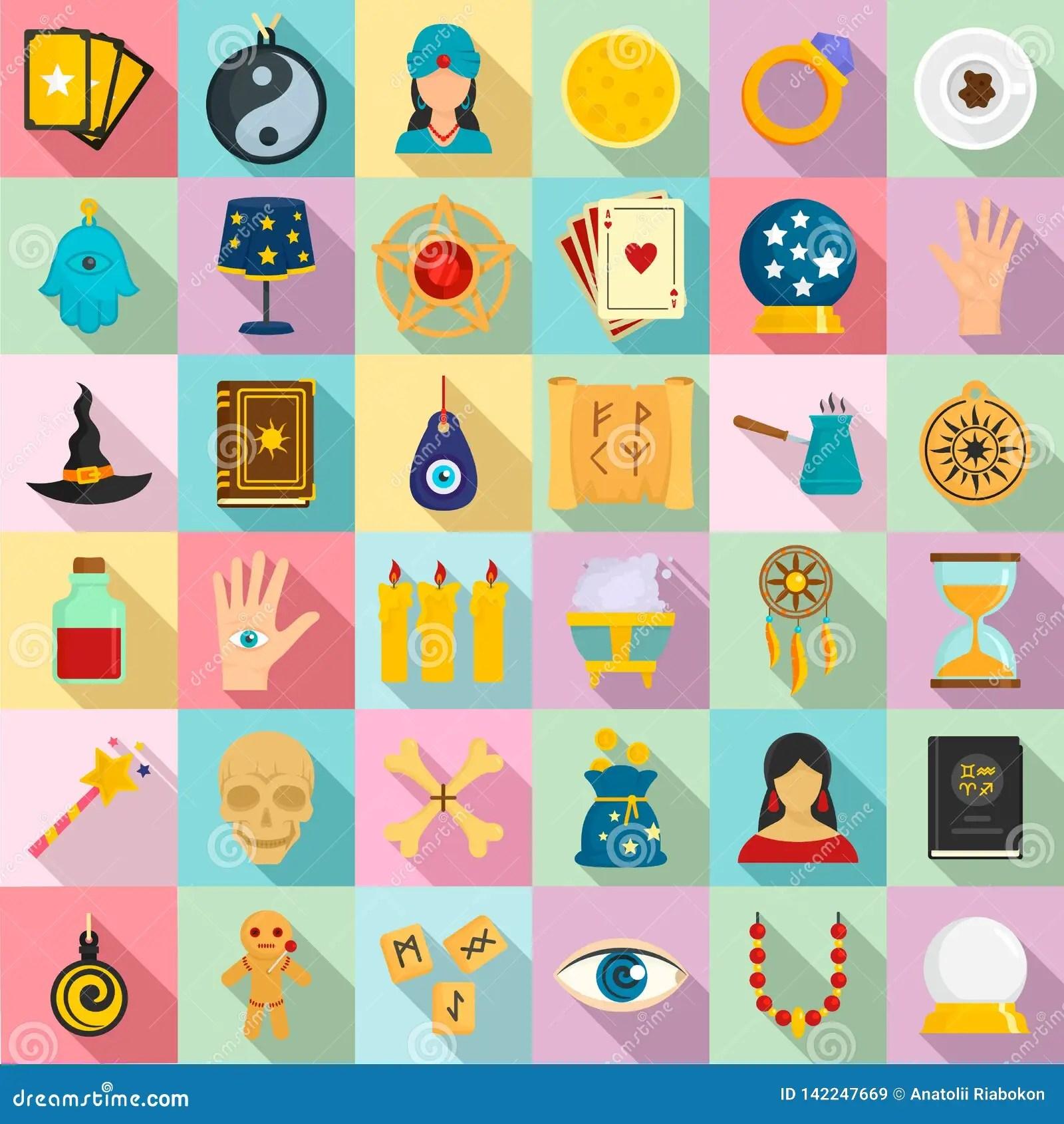 magic fortune teller icons