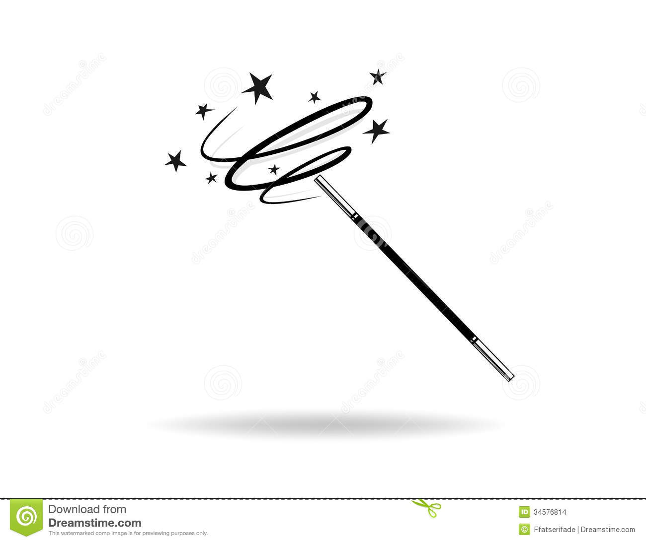 Magic Wand Stock Illustration Illustration Of Times