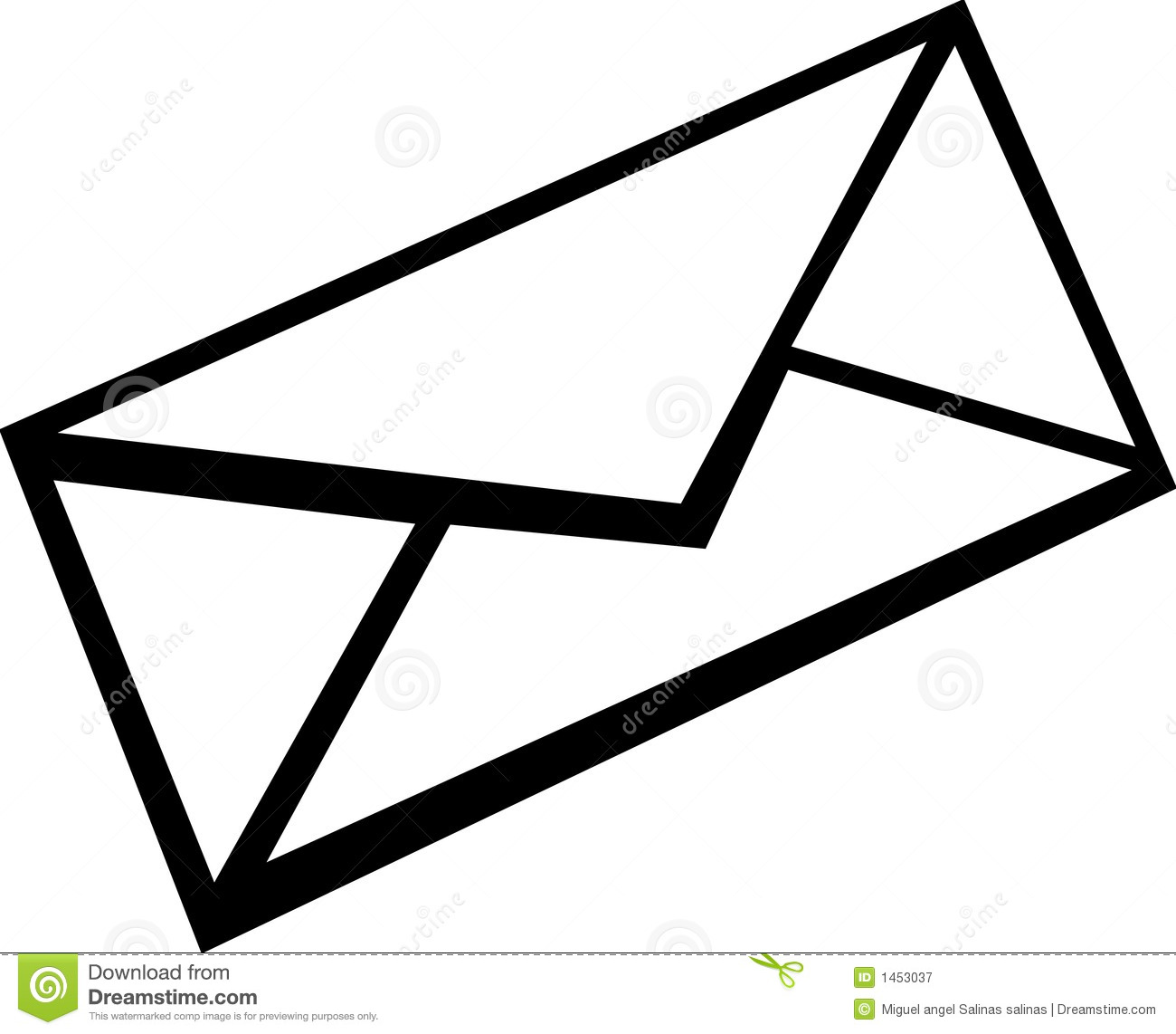 Mail Envelope Vector Illustration Royalty Free Stock
