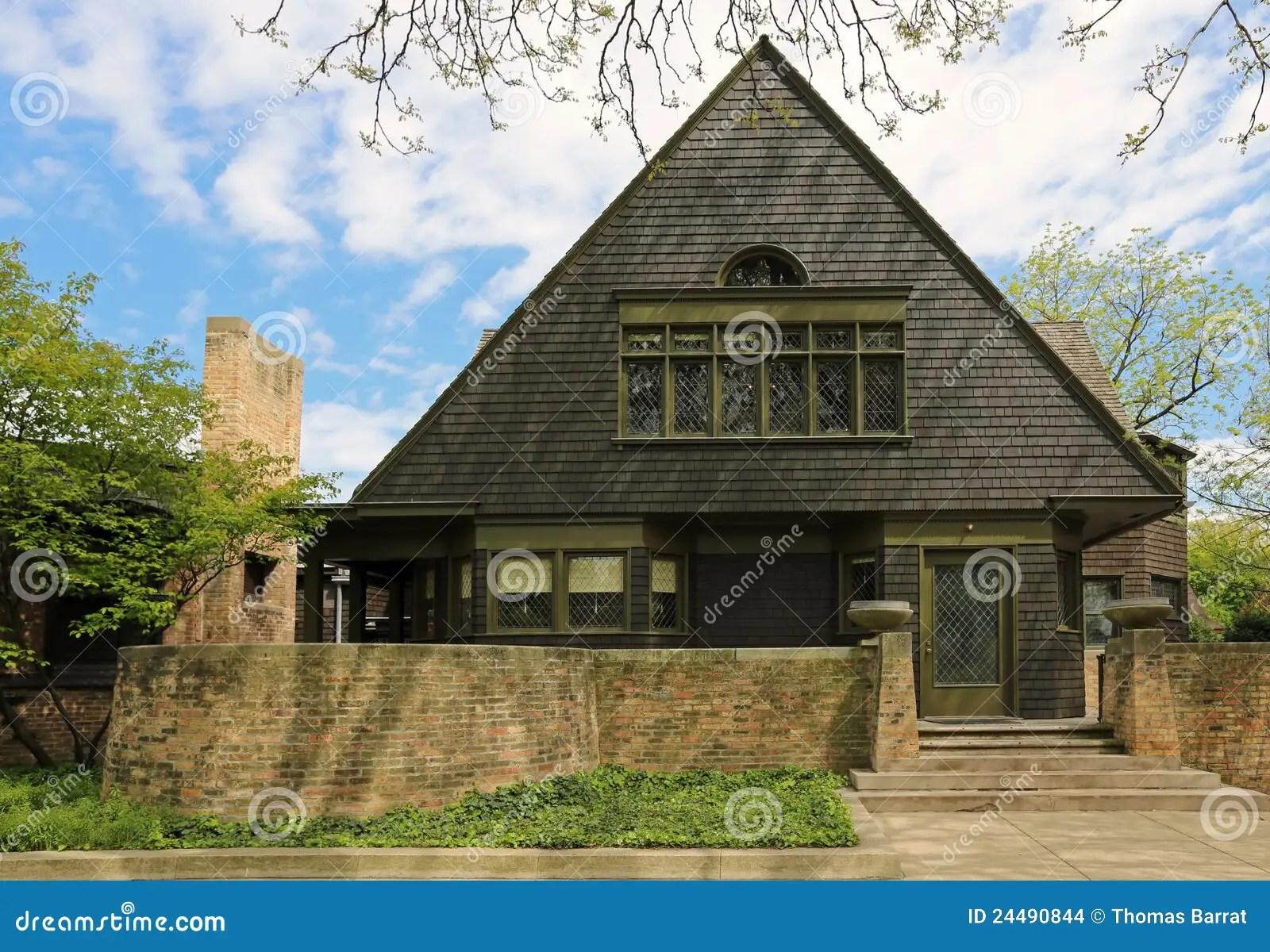 Maison Et Studio De Frank Lloyd Wright Photo stock  Image