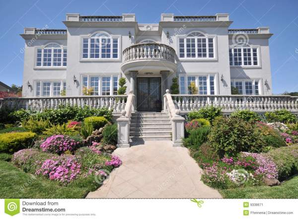 Two-Story Mansion House