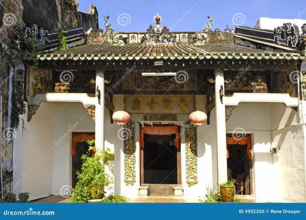 Malaysia; Penang; Chinese Temple Stock - 4952350
