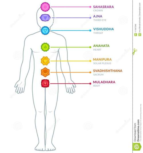 small resolution of full body male figure with chakras infographics chakra symbols and captions on separate layers isolated vector illustration
