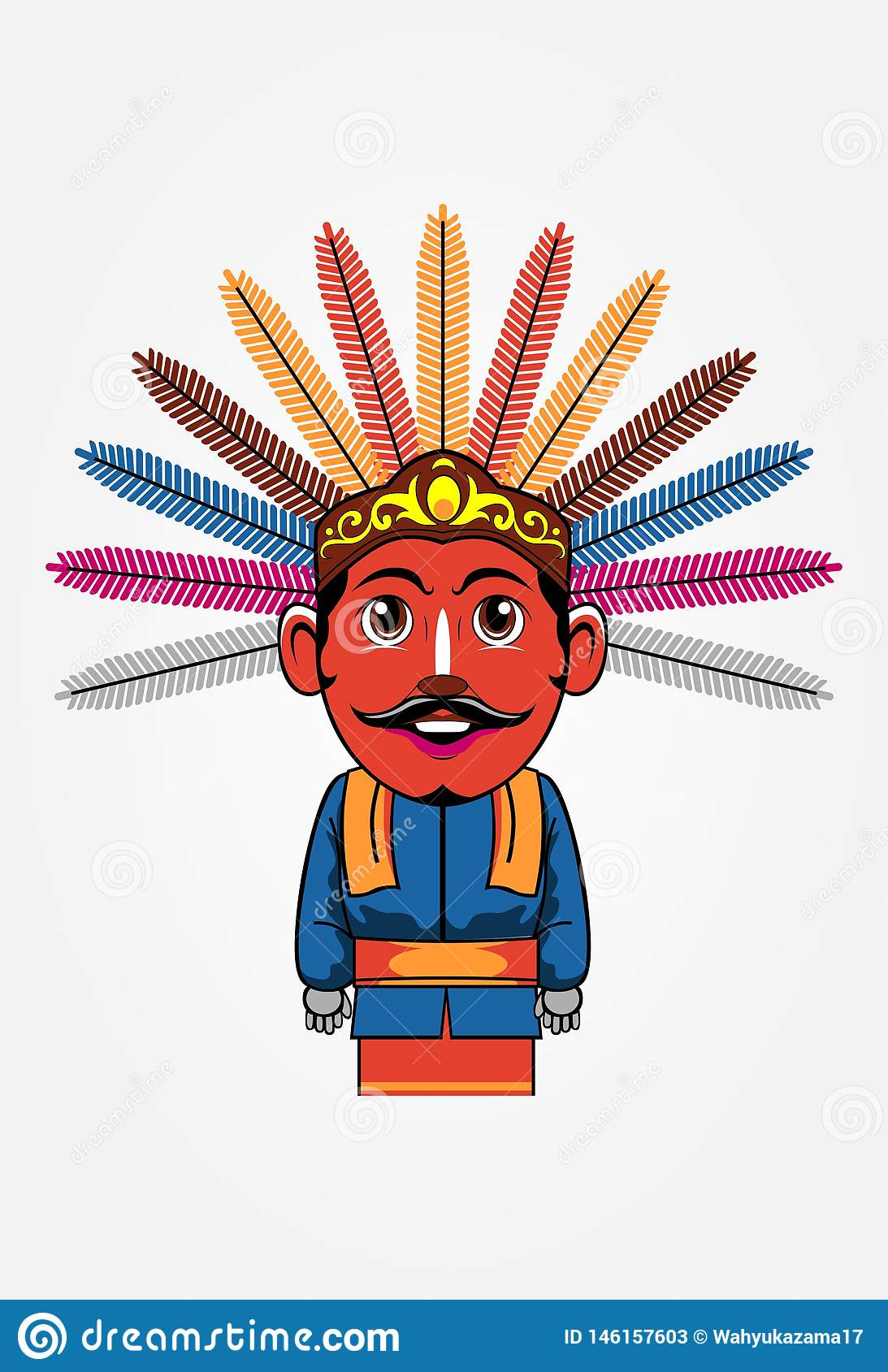 Ondel Ondel Betawi Kartun : ondel, betawi, kartun, Ondel, Stock, Illustrations, Illustrations,, Vectors, Clipart, Dreamstime