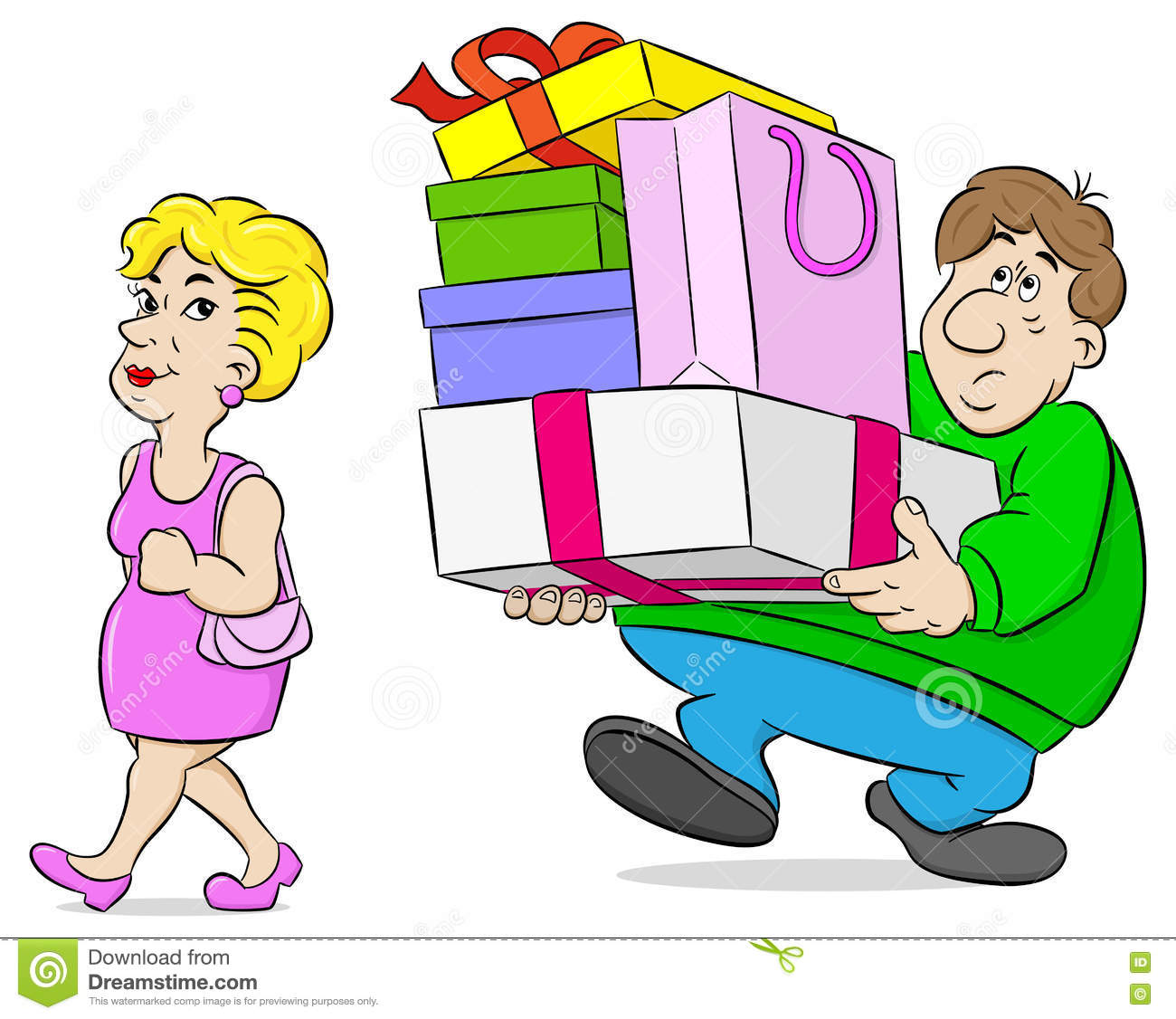 hight resolution of shopping wife stock illustrations 929 shopping wife stock illustrations vectors clipart dreamstime