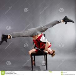 On Chair Dance Best Back Support For Office Man Dancing Stock Photo Image Of Clothes Single 27023120