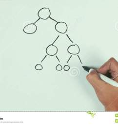 man hand speed draw branching diagram binar mlm with black marker pen on whiteboard stock video video of presentation capsule 87624131 [ 1300 x 821 Pixel ]