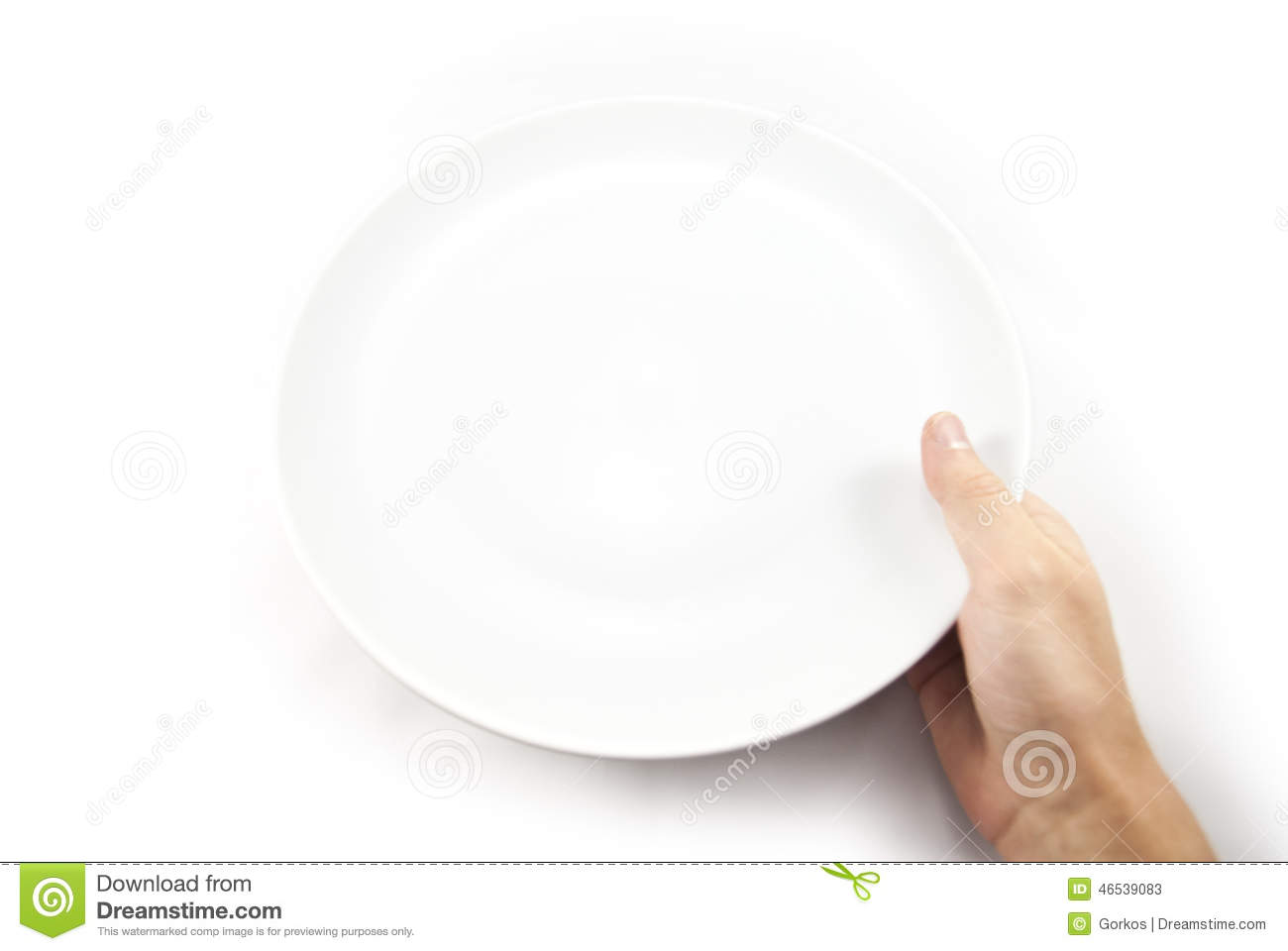 Person Eating With Hands