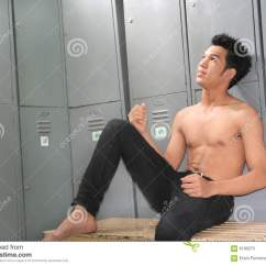 Chair Exercise Justin Timberlake Bruno Lift Accessories Man In Locker Room Stock Photos Image 6190273