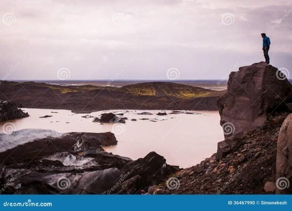 man landscape stock