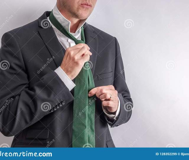 Man In White Shirt And Black Suit Get Dressed Undressed