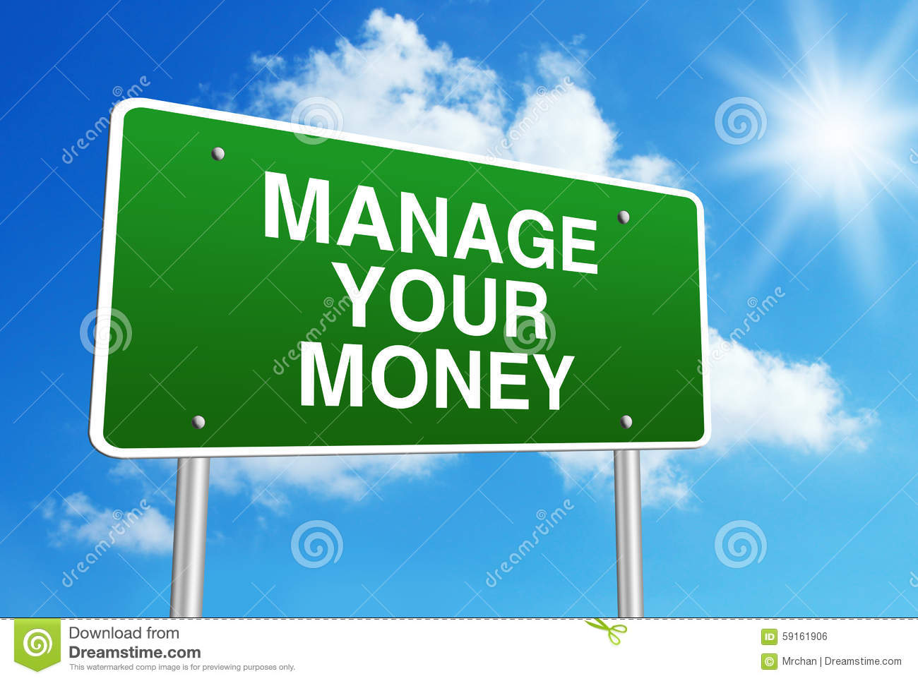 Manage Your Money Stock Photo Image Of Choice Calculator