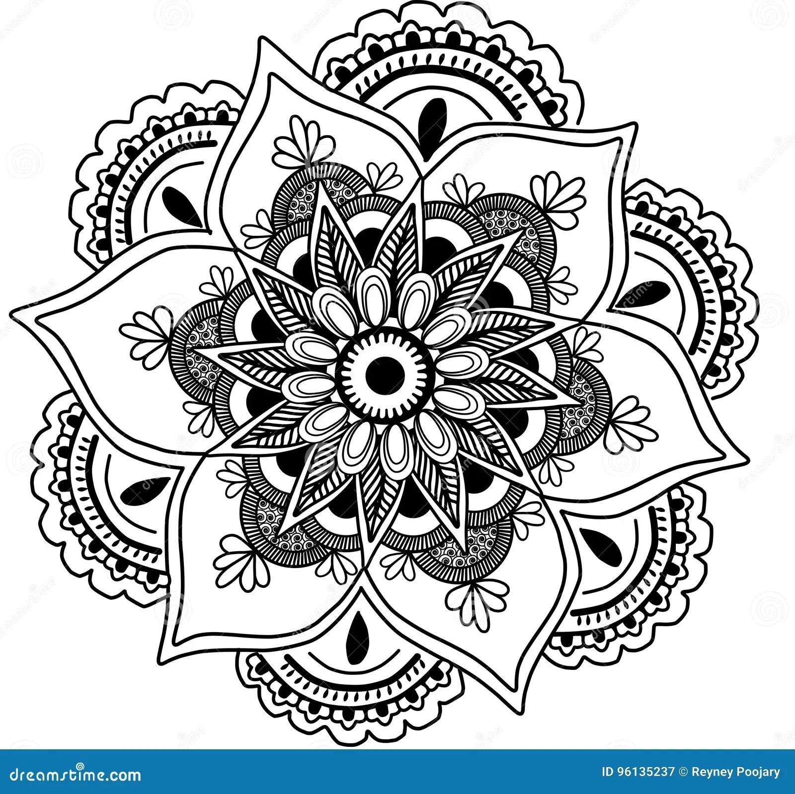 Mandala Clipart Stock Illustration Illustration Of