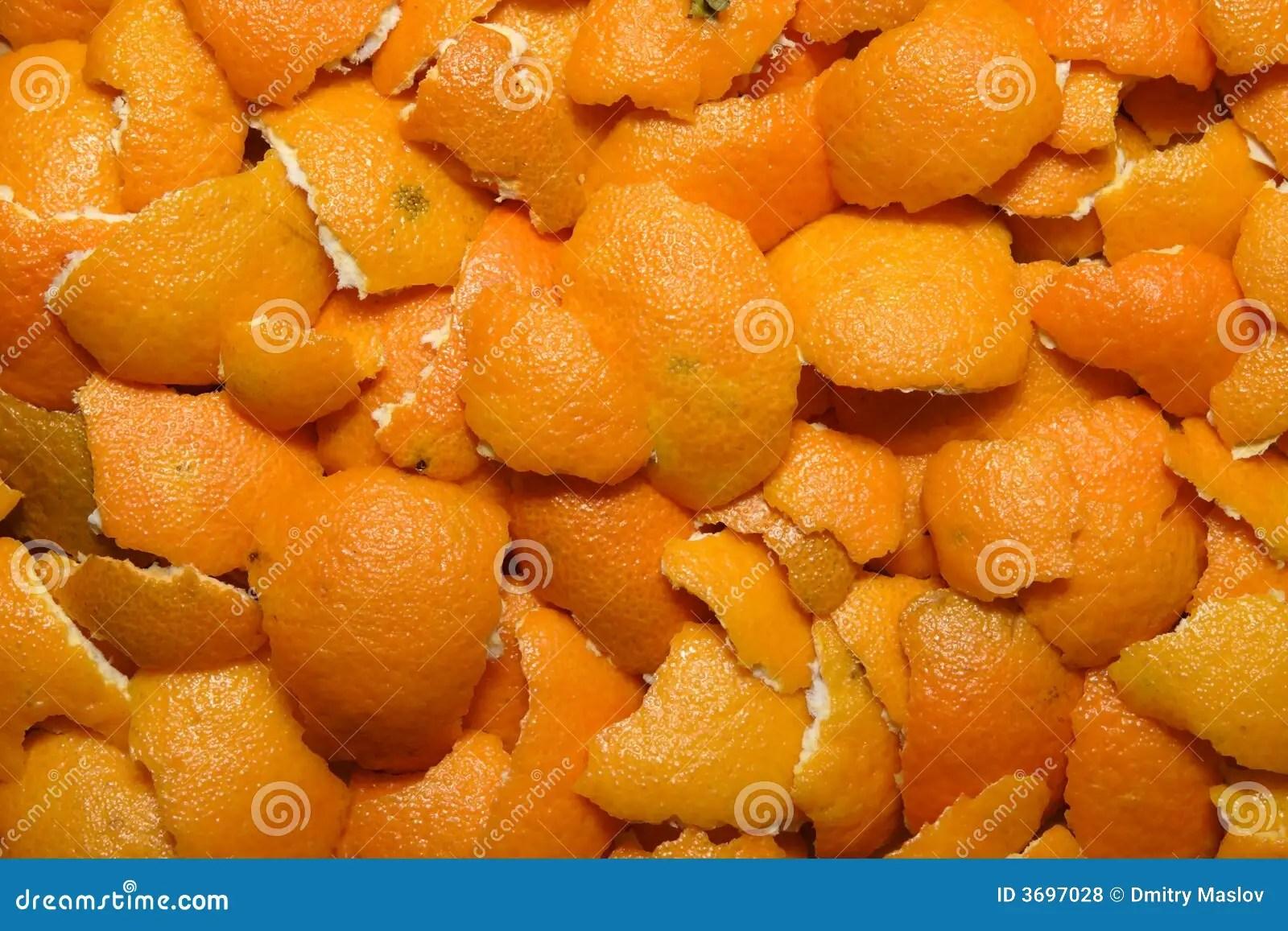 Mandarin Peel Royalty Free Stock Photos - Image: 3697028