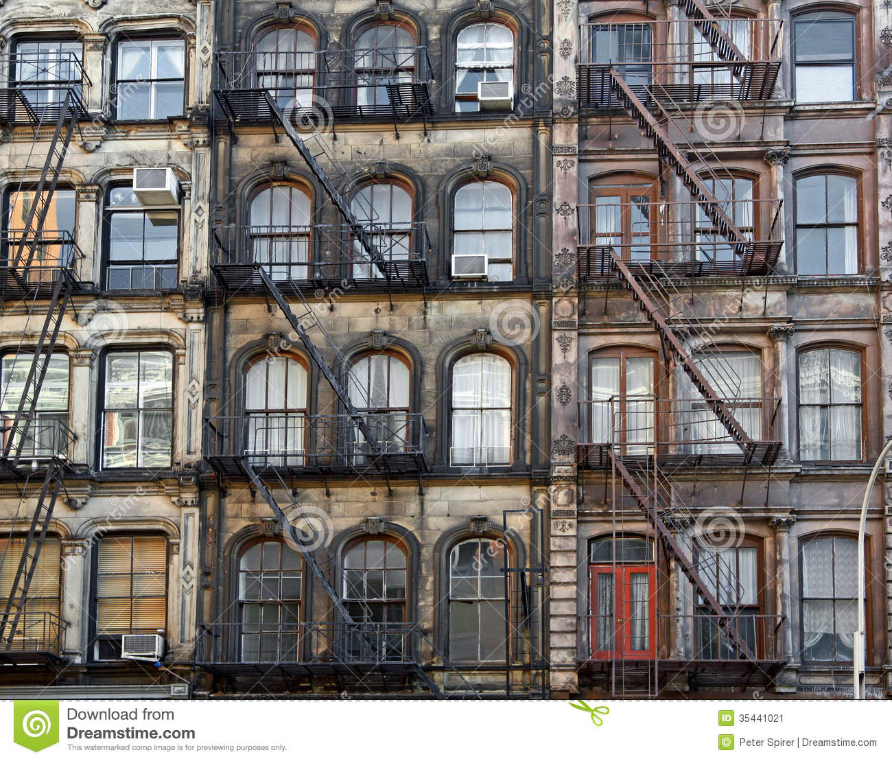 Manhattan lofts stock image Image of manhattan lofts