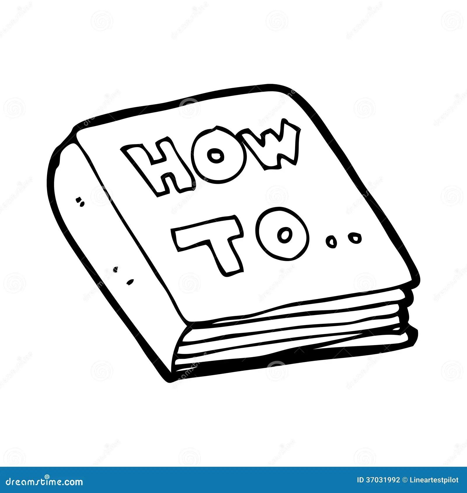Manuale Fai-da-te Del Fumetto Illustrazione di Stock