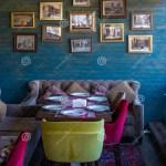Many Photos In The Frames Wall Interior Cafe Baku Azerbaijan Editorial Photography Image Of Azerbaijan Decor 137424597