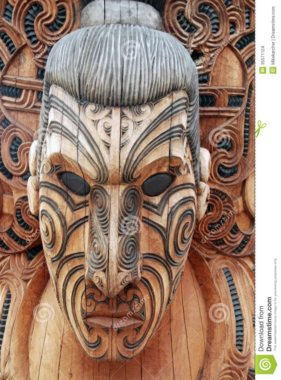 Maori warrior stock photo Image of courage brave