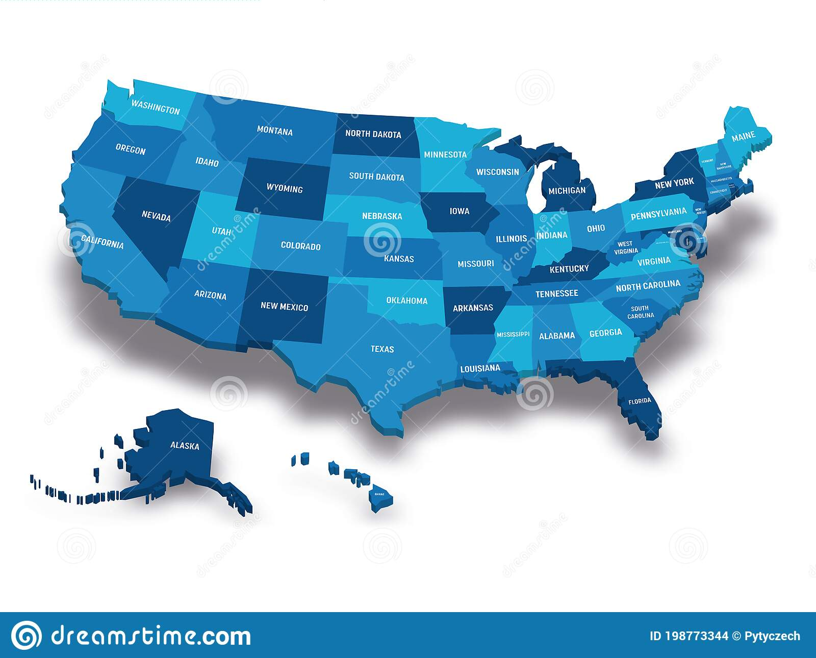 Read about us state abbreviations. Map Of Usa Stock Vector Illustration Of Abbreviations 198773344