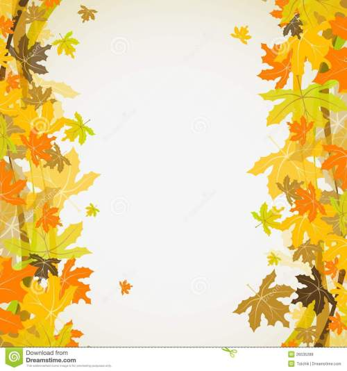 small resolution of maple autumn background vector