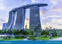 Marina Bay Sands Hotel Stock - 39122697