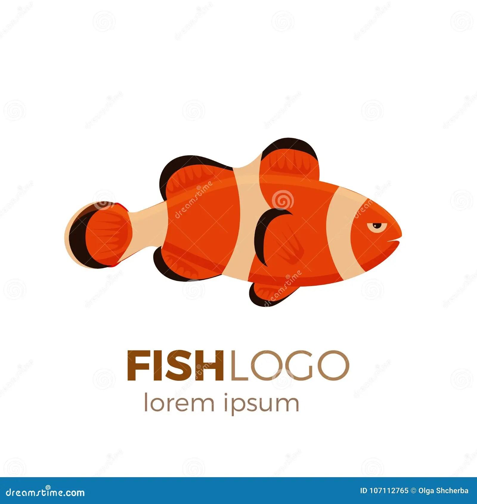 hight resolution of marine life tropical colorful fish set illustration cartoon aquarium draft vector design clownfish logo cute fish