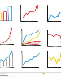 Set of abstract hand drawn whiteboard marker charts business graphs bar statistics illustration also chart drawings stock vector look rh dreamstime