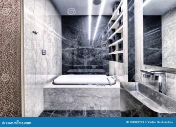 Bagno Bianco E Nero Moderno