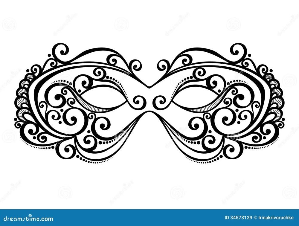 medium resolution of beautiful masquerade mask vector patterned design stock illustration