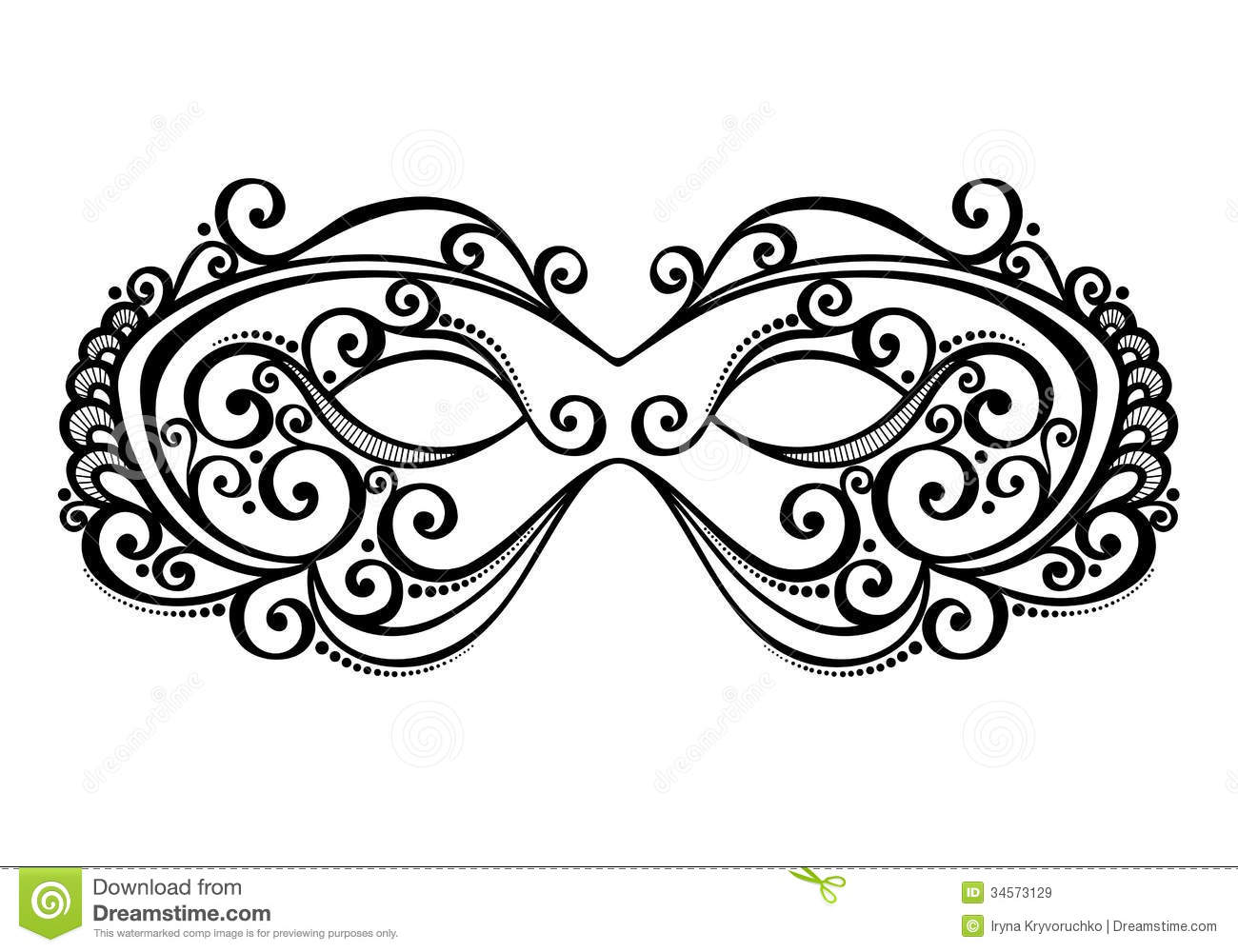 hight resolution of beautiful masquerade mask vector patterned design stock illustration