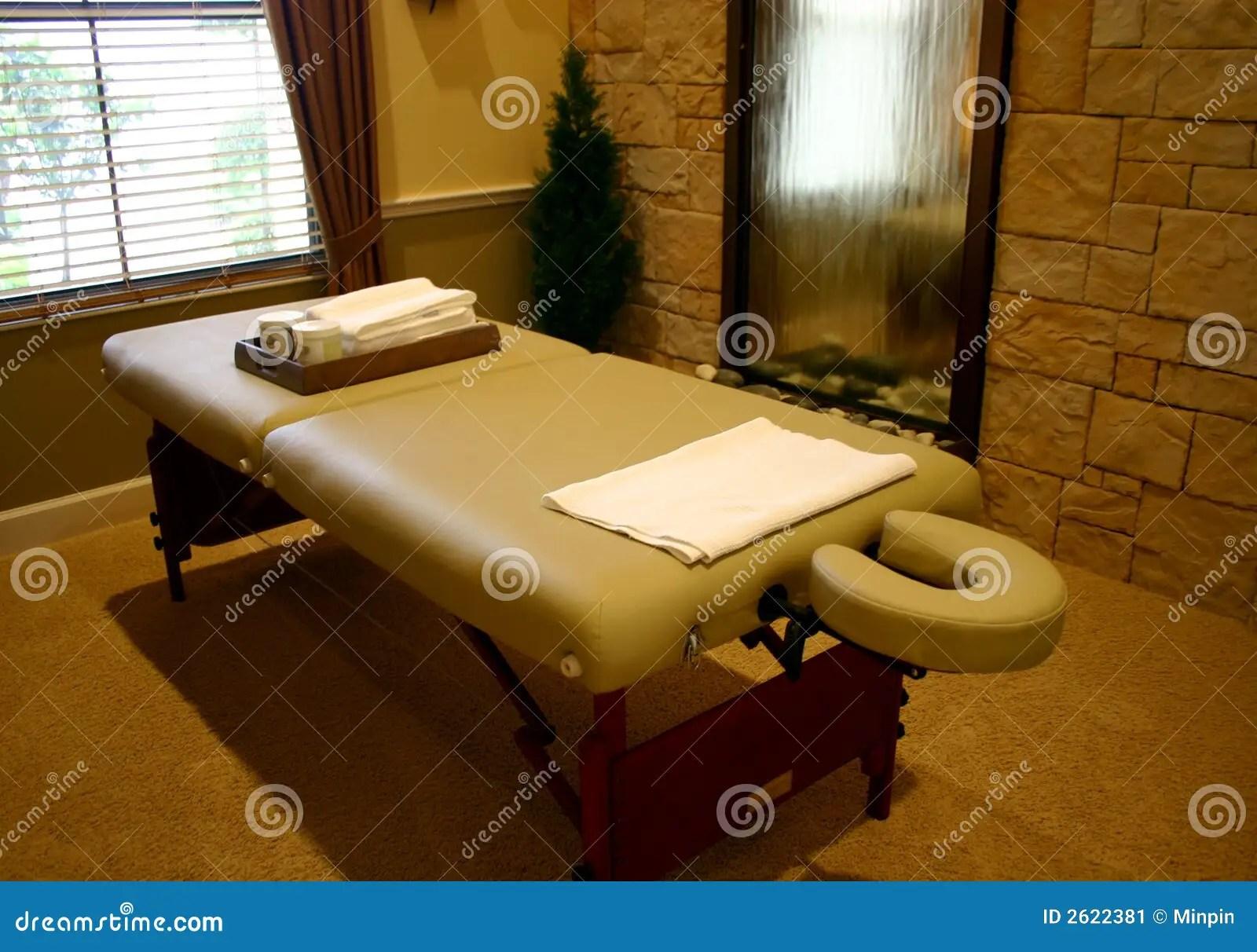 Massage Table Stock Image  Image 2622381