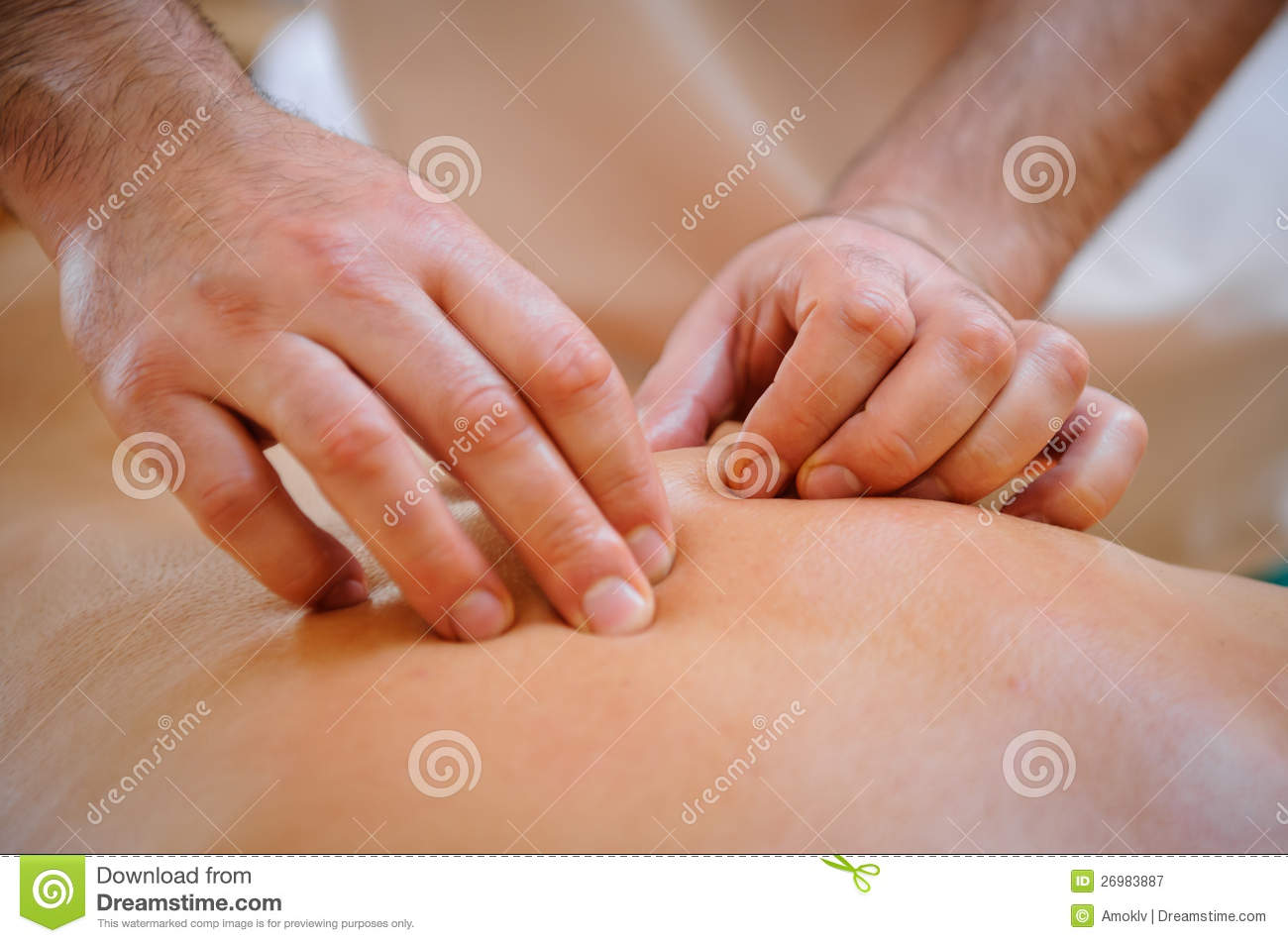 Massage therapy stock image Image of lifestyle health
