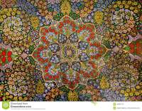 Masterpiece Design Of Oriental Persian Carpet With Garden ...