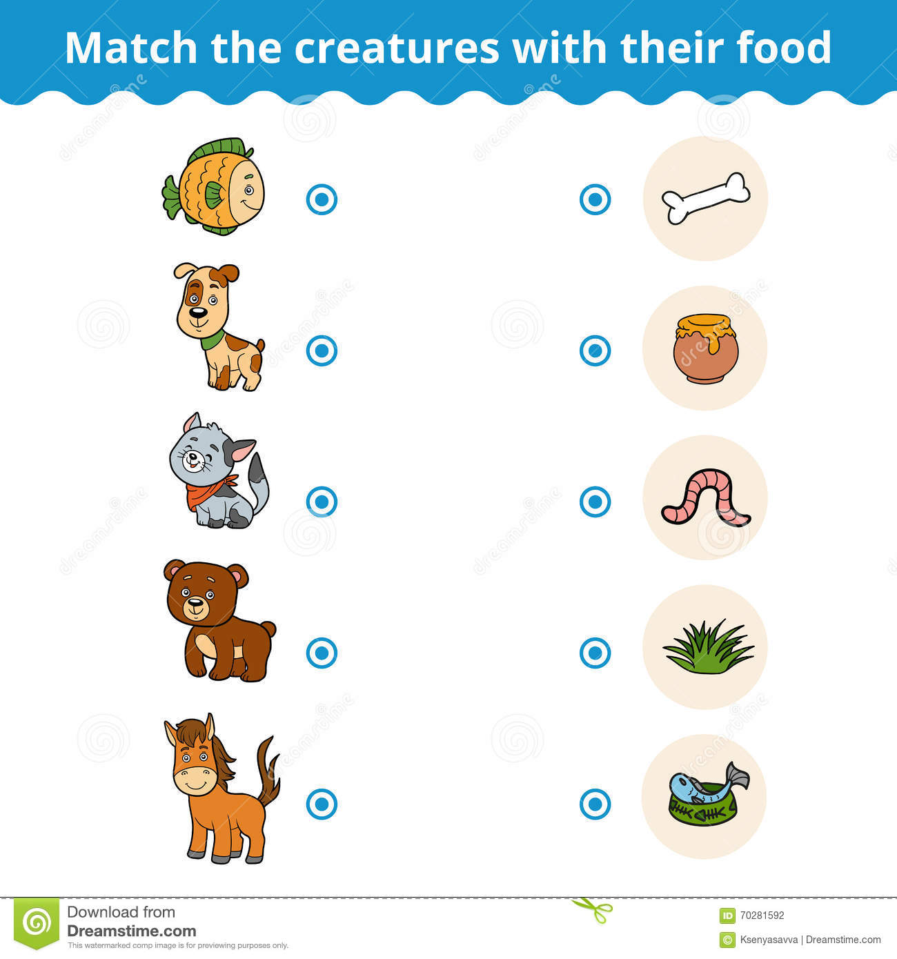 Farm Food Worksheet Preschool