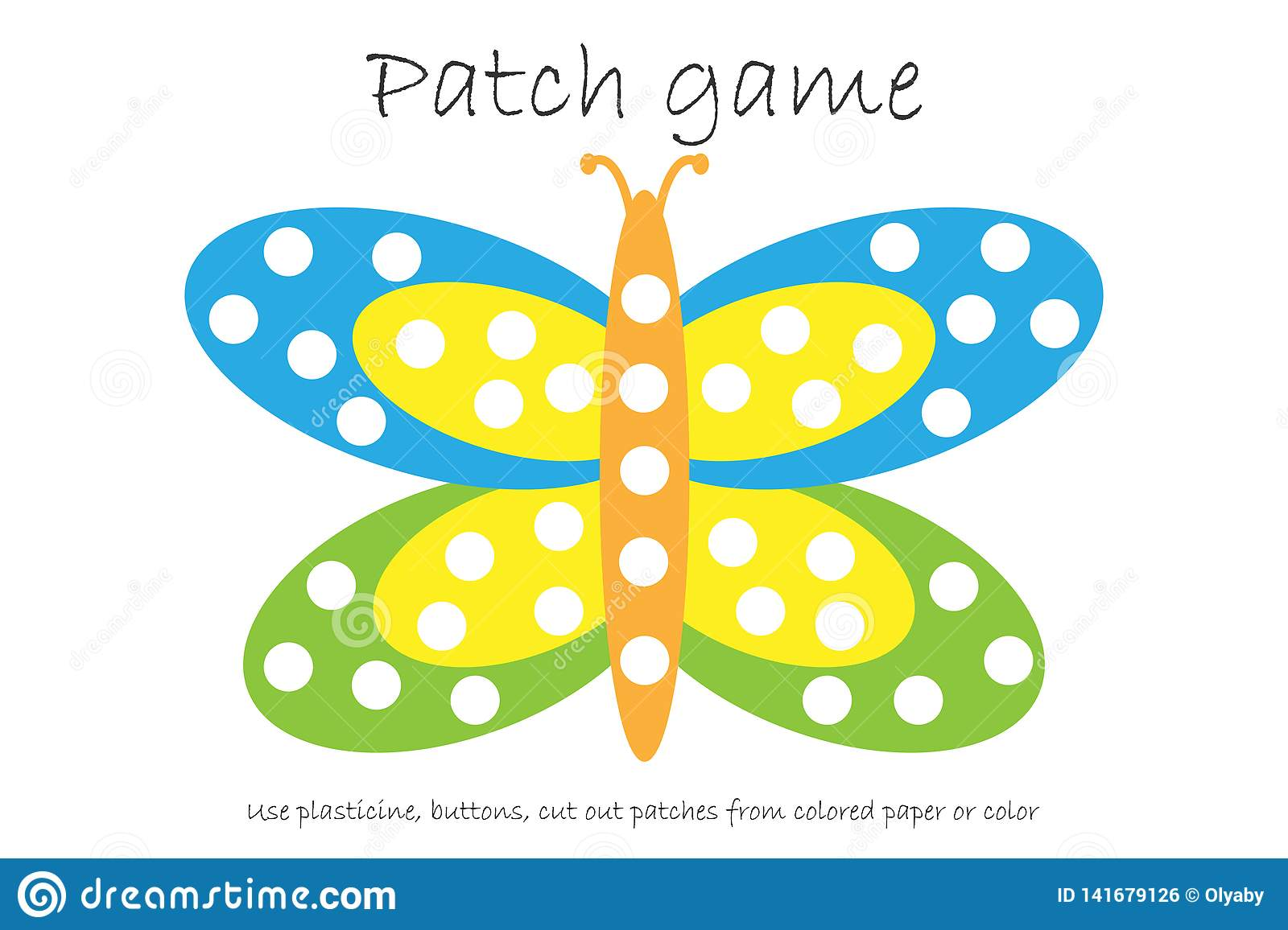 Matching Game For Children Connect Colorful Birds With
