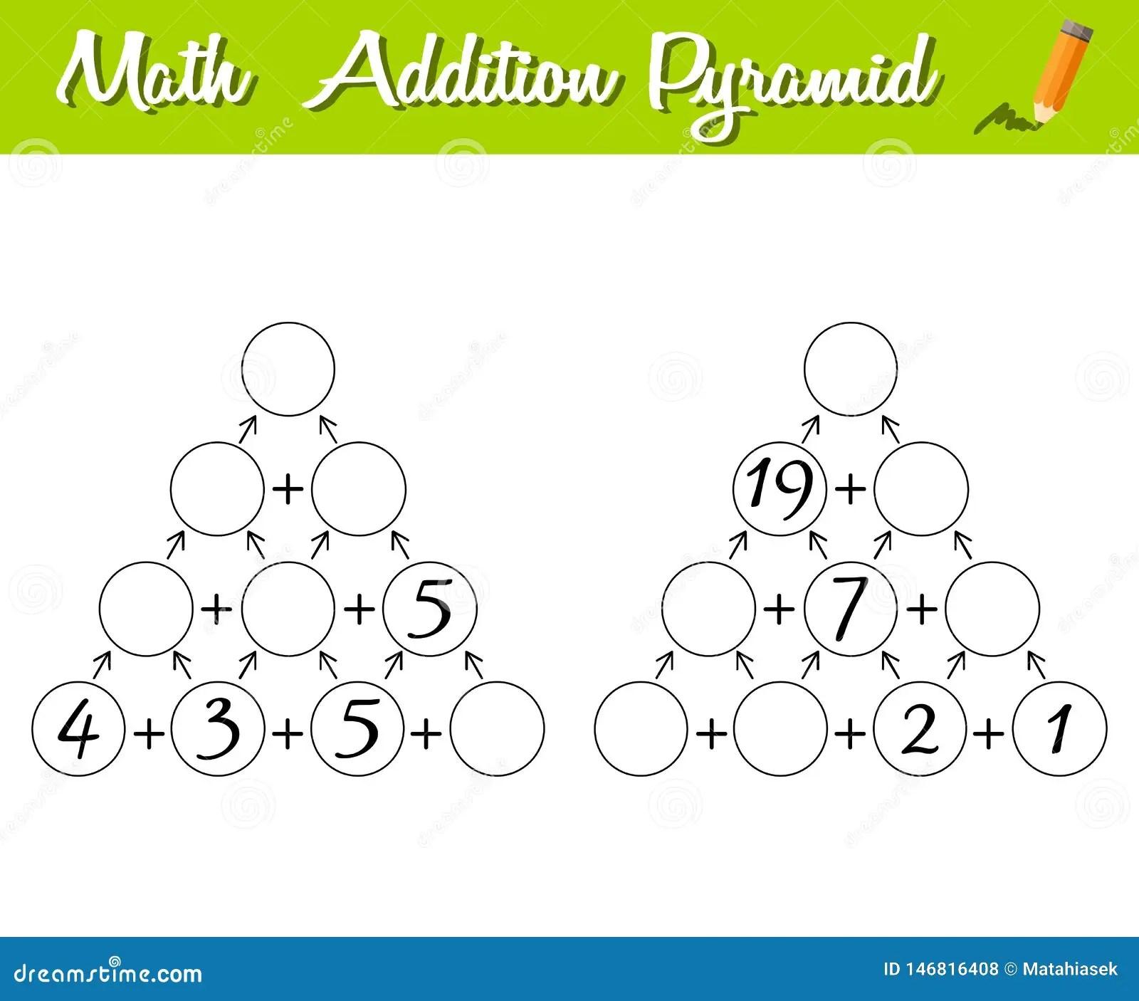 Math Pyramid Game 0 30 Educational A Mathematical Game