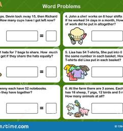 Math Word Problem Worksheets - Sheet For Exam And Testing. Stock Vector -  Illustration of question [ 1221 x 1600 Pixel ]