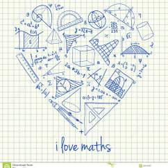 How To Draw A Diagram For Math 99 F250 Headlight Wiring Maths Drawings In Heart Shape Stock Illustration