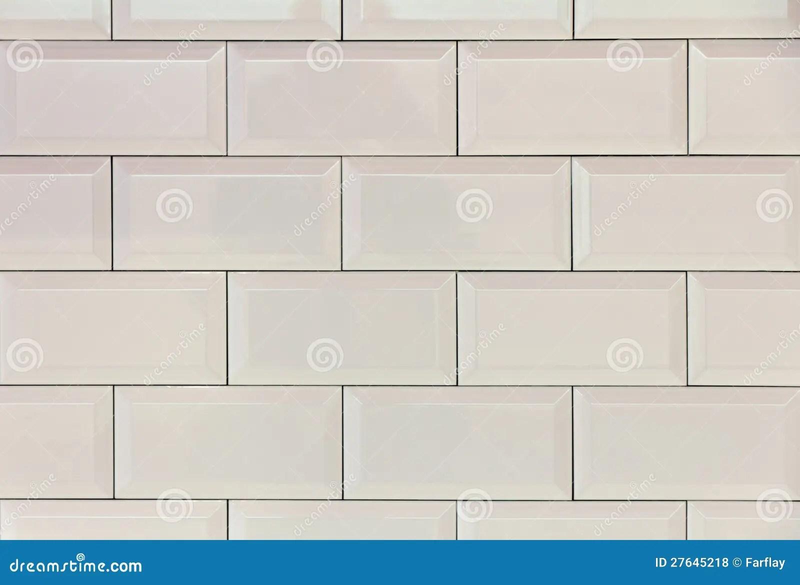 Mattonelle bianche fotografia stock Immagine di