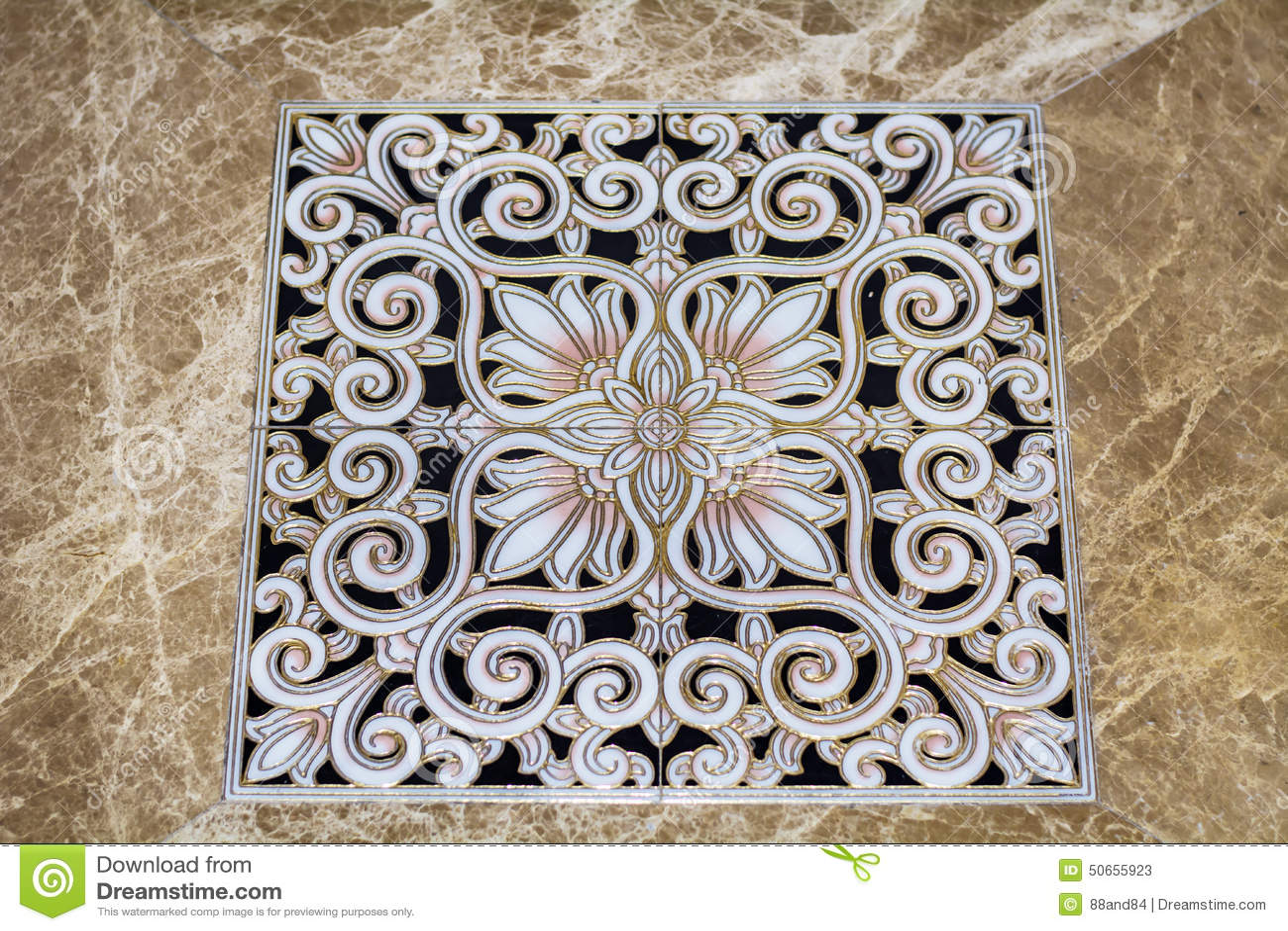 Mattonelle Di Pavimento Arabe Antiche Immagine Stock  Immagine di brown particolari 50655923