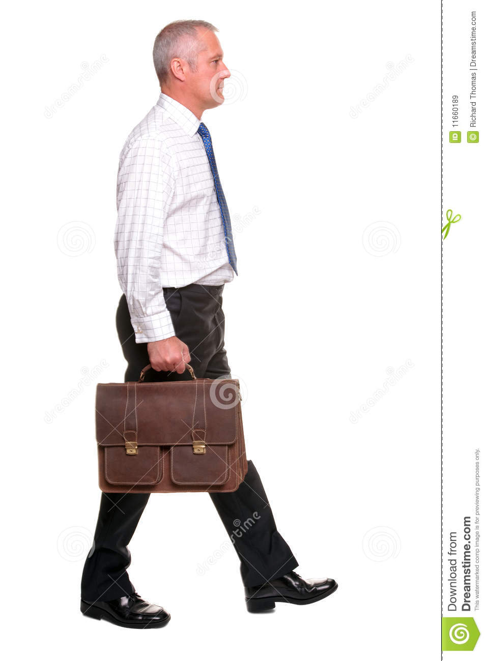Mature Businesman Walking Side View Royalty Free Stock Images  Image 11660189
